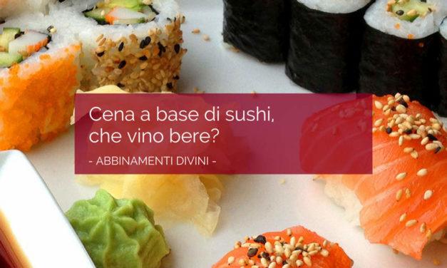 Ecco cosa bere con il sushi: un'idea con le bollicine