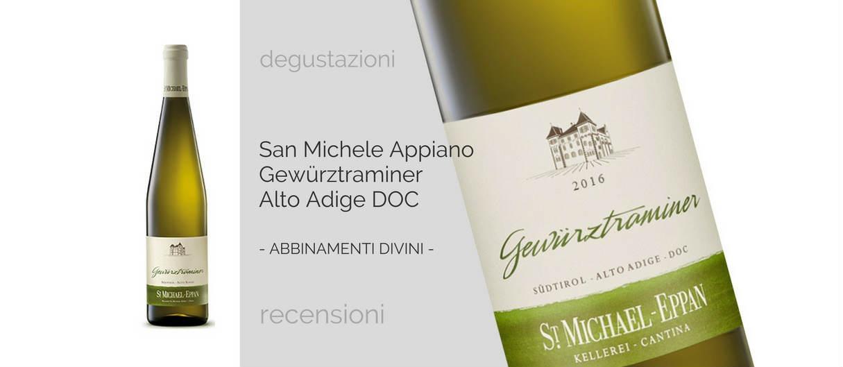 San Michele Appiano Gewürztraminer 2016 Alto Adige DOC